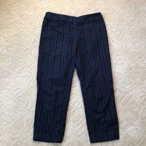 LOFT Julie Fit crop pants
